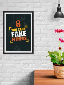 Can't Fake Fitness