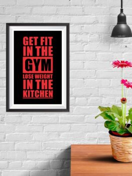 Get Fit In The Gym