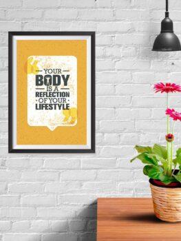 Body Reflects Lifestyle