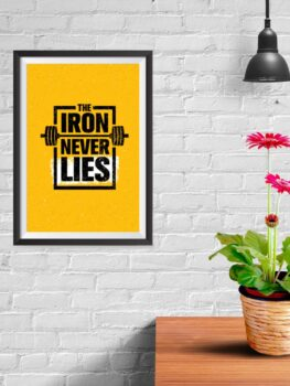 The Iron Never Lies