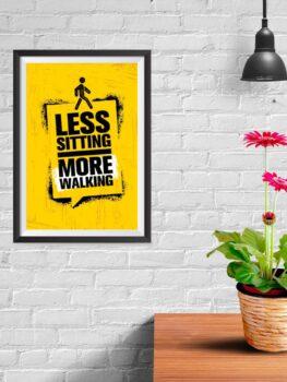 Less Sitting
