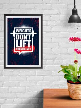 Weights Don't Lift Themselves