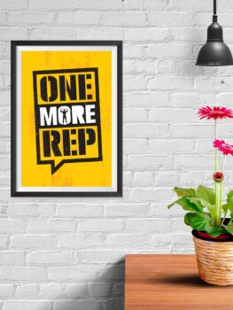 One More Rep – Yellow