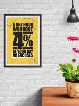 A One Hour Workout Is 4% Of Your Day