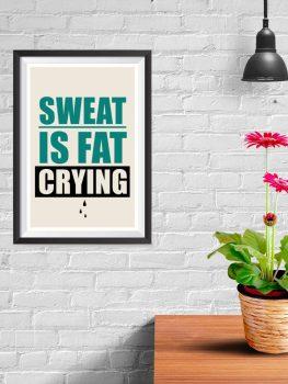 Sweat Crying
