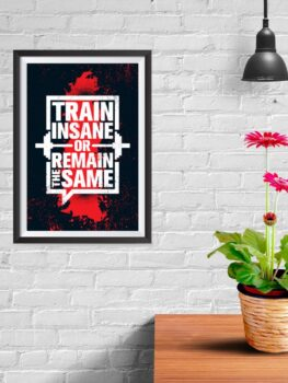 Train Insane or Remain