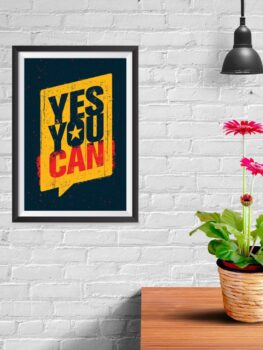 Yes You Can (black)