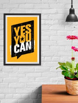 Yes You Can (yellow)